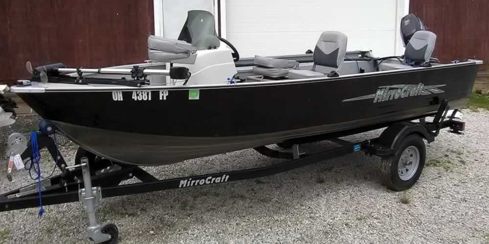 2015 Mirrocraft Fisherman II – Suzuki 20 Four Stroke