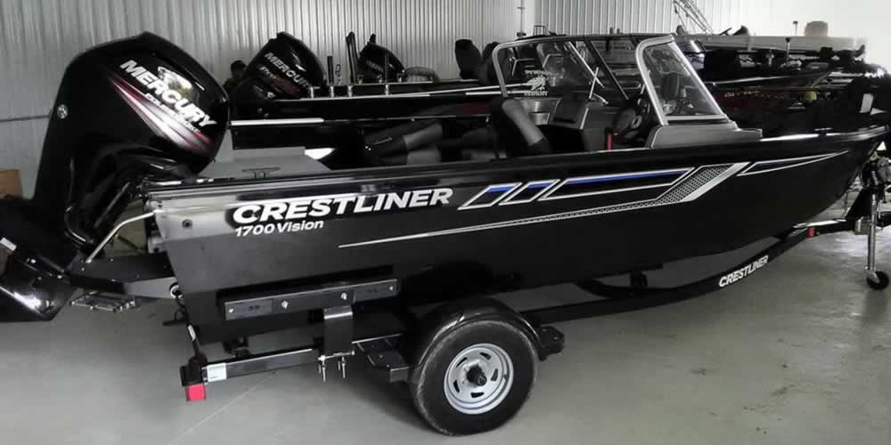 2018 Crestliner 1700 Vision - Mercury 90 Four Stroke