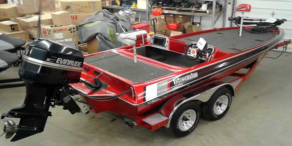 1995 Gambler 193DC Imtimidator - Evinrude 200 Limited Edition