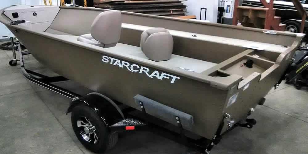 2019 Starcraft Marine Freedom 160TL – Tiller