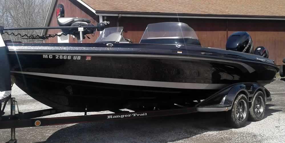 2017 Ranger 621FS – Mercury 350V – 9.9 CT