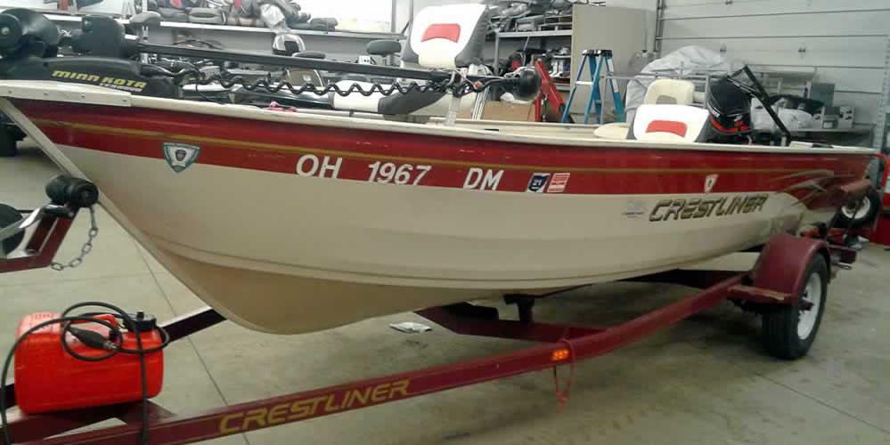 2002 Crestliner Angler – Mercury 25