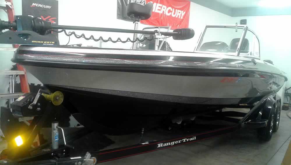 2013 Ranger 621VS Fisherman - Mercury 250 Pro XS - 9.9 Pro Kicker
