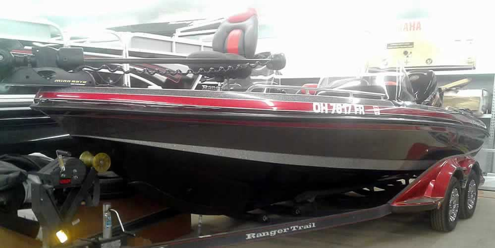 2013 Ranger 620VS Fisherman – Mercury 250 XS + 9.9 4S