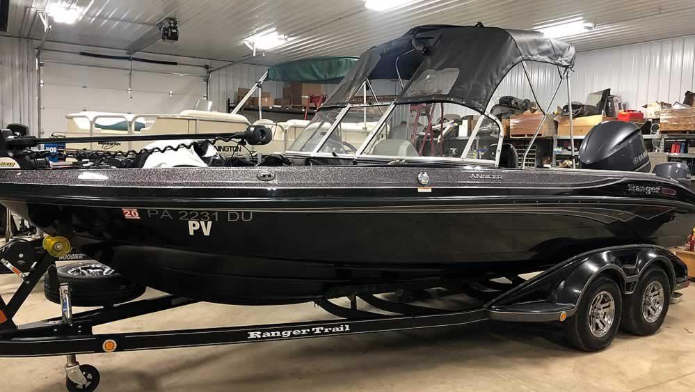 2018 Ranger 2080MS Angler - Yamaha 225+9.9 Four Stroke
