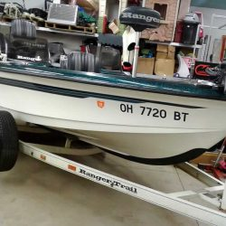 1996 Ranger 692 Fisherman - Johnson 150 Fast Strike