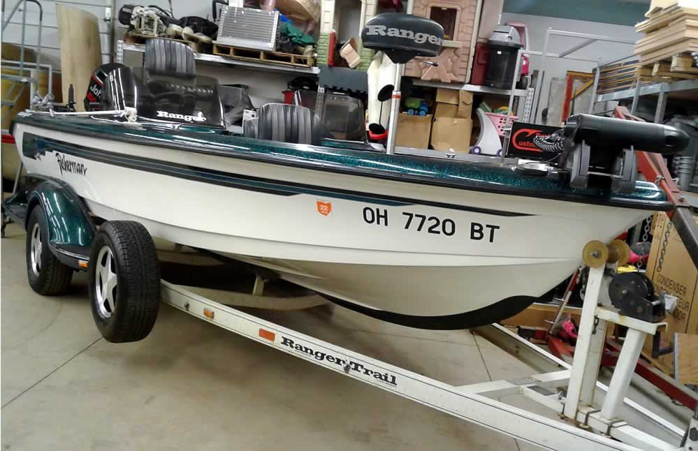 1996 Ranger 692 Fisherman - Johnson 150 Fast Strike