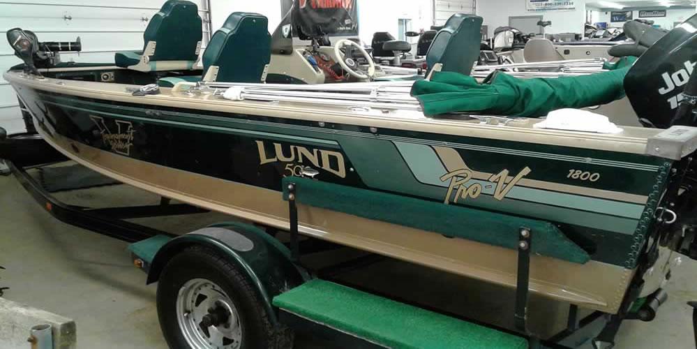 1998 Lund 1800 ProV – Johnson 150 Ficht Fast Strike