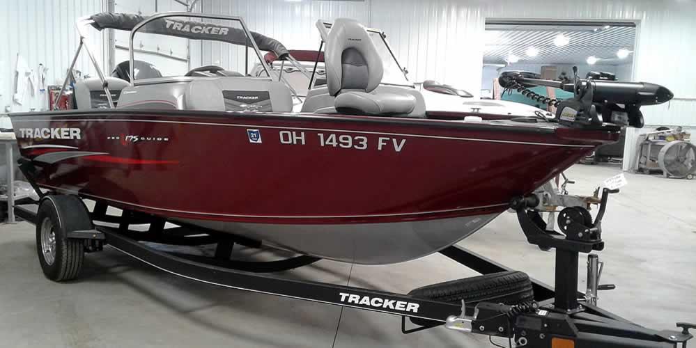 2018 Tracker Pro Guide V175 Combo – Mercury 115 4S