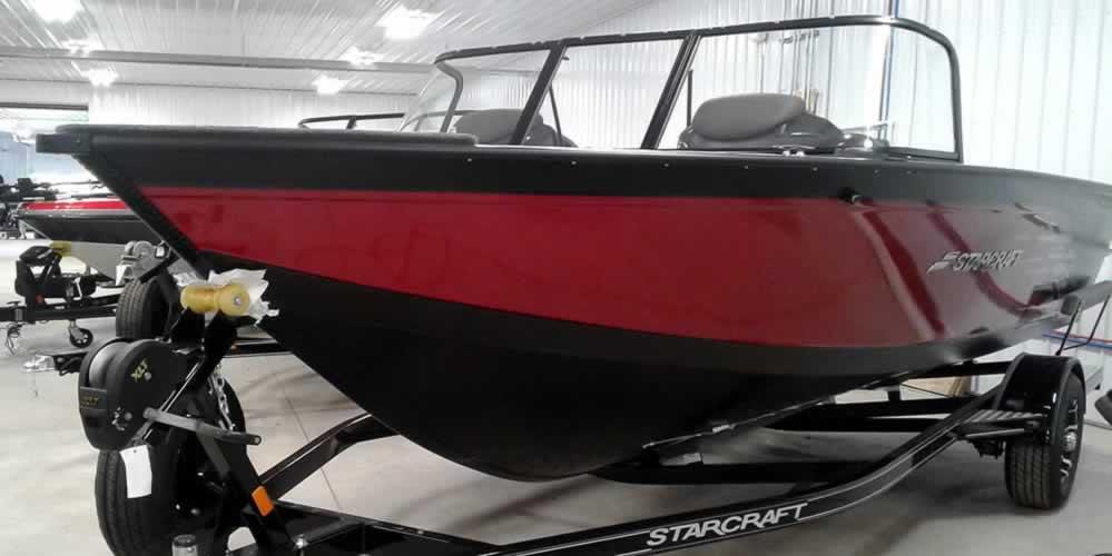 2019 Starcraft 186 Super Fisherman – Yamaha Rigging – Red