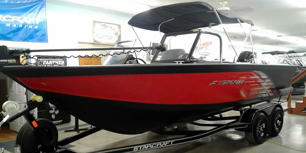 2019 Starcraft 196 Fish Master – Mercury 150 XS Four Stroke