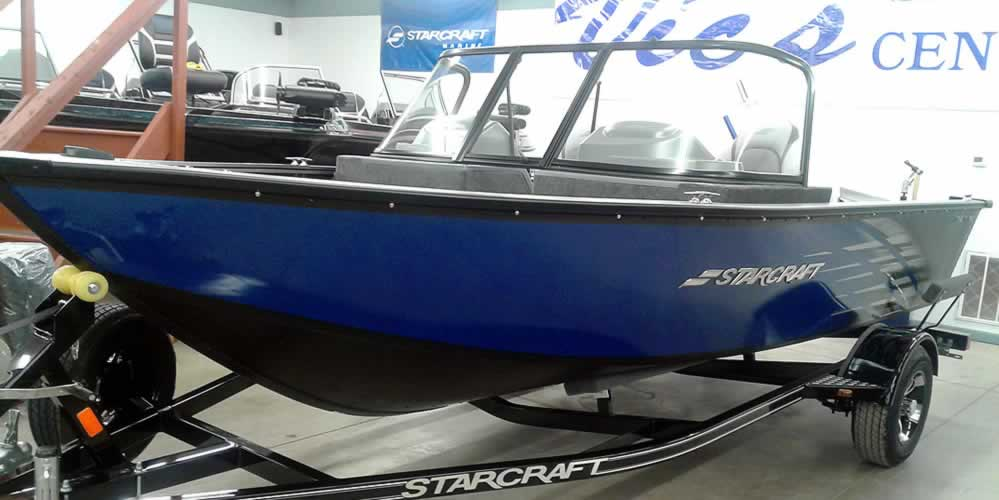 2020 Starcraft Stealth 166 - Yamaha Pre-Rig