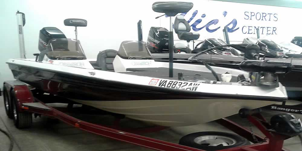 Pre-Owned Boat Inventory | Used FishIng Boats | Vic's Sports