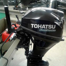 2017 Tracker Grizzly 1448 MAX - Tohatsu 15 Four Stroke Tiller
