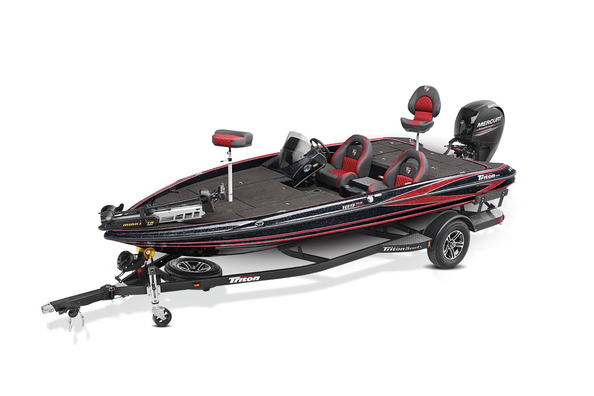 2020 Triton 189-TrX Bass Boat