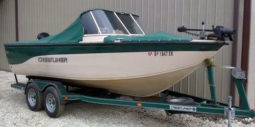 2001 Crestliner 2050 Sportfish - Mercury 125