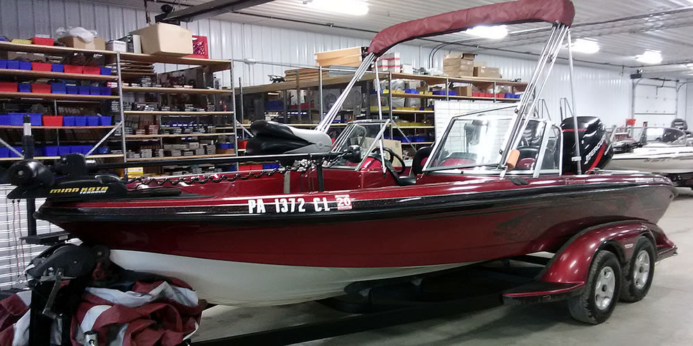 2002 Ranger 620VS Fisherman WT – Mercury 225 Optimax