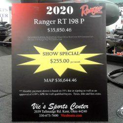 2020 Ranger RT198P SC - Mercury 150 XS Four Stroke