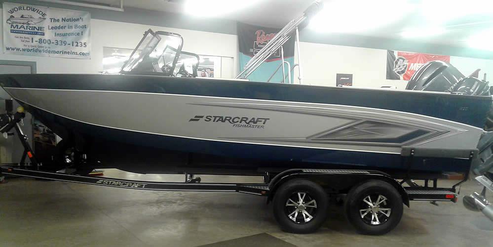 2021 Starcraft 210 Fish Master - Yamaha 250 Four Stroke