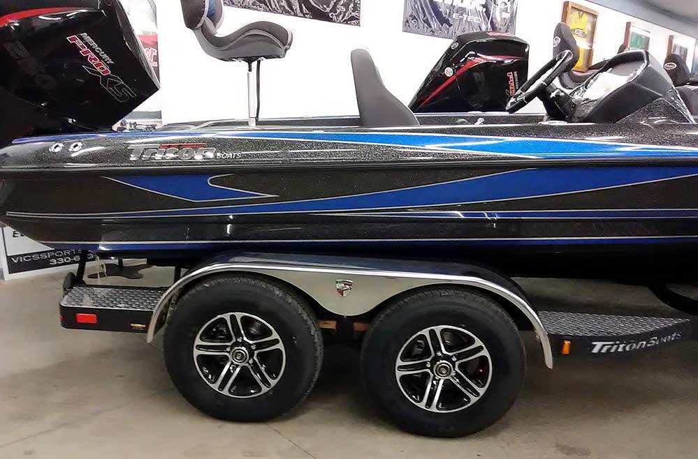 2020 Triton 21TrX Elite SC - Mercury 250 XS Four Stroke