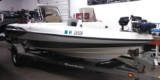 2000 Triton 189DV DC - Yamaha 150 VMAX