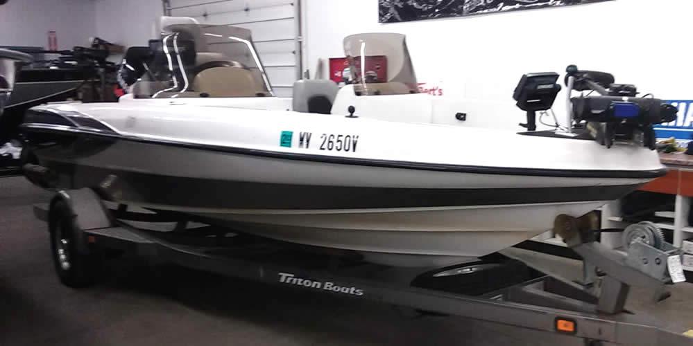 2000 Triton 189DV DC – Yamaha 150 VMAX