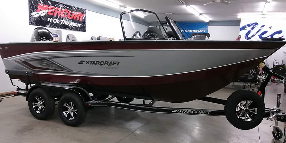 2021 Starcraft 196 Fish Master - Mercury 150 Four Stroke