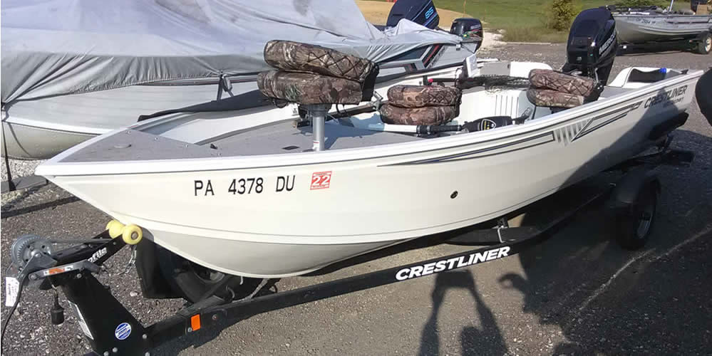 2018 Crestliner 1650 Discovery – Mercury 25 Four Stroke