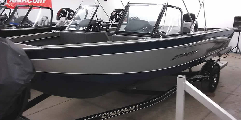 2020 Starcraft 196 FishMaster - Mercury 150 Four Stroke