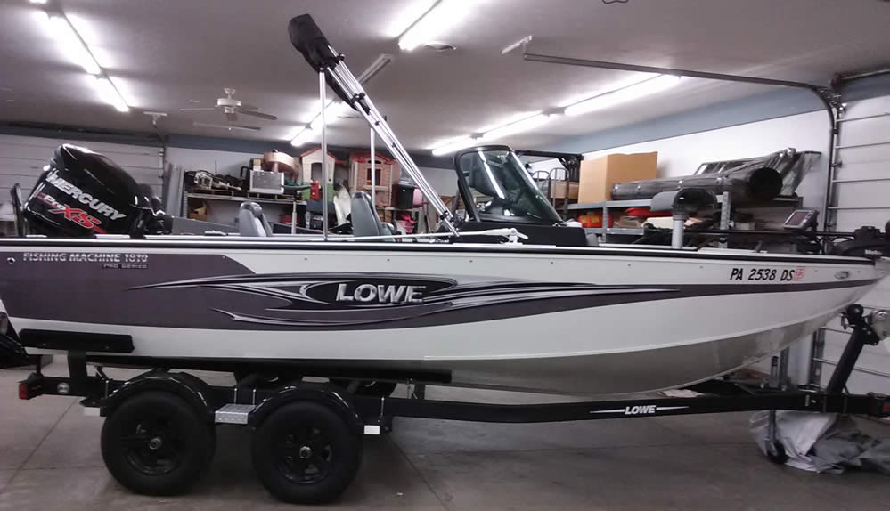 2016 Lowe 1810 Fishing Machine - Mercury 150 Pro XS