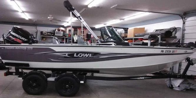 2016 Lowe 1810 Fishing Machine - Mercury 150 Pro XS