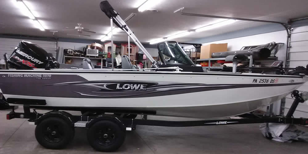 2016 Lowe 1810 Fishing Machine – Mercury 150 XS + 20 4S
