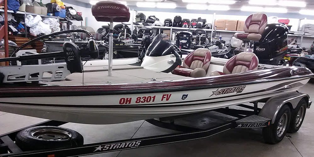2011 Stratos 294XL Evolution SC - Yamaha 200 SHO