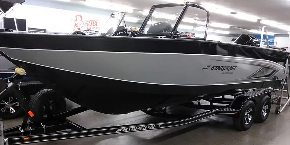 2021 Starcraft 210 FishMaster WT - Mercury 225 Four Stroke