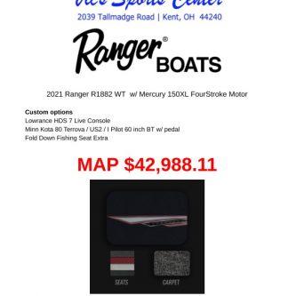 2021 Ranger VS1882WT - RGR71845H021