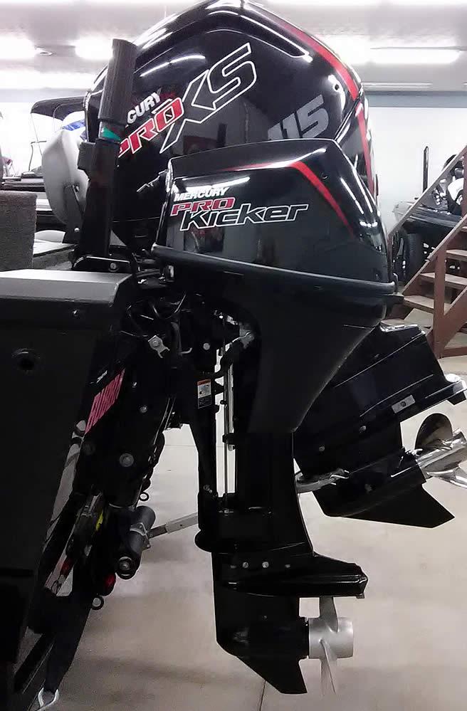 2017 Ranger VS1780 WT - Mercury 115 XS - 9.9 Tiller