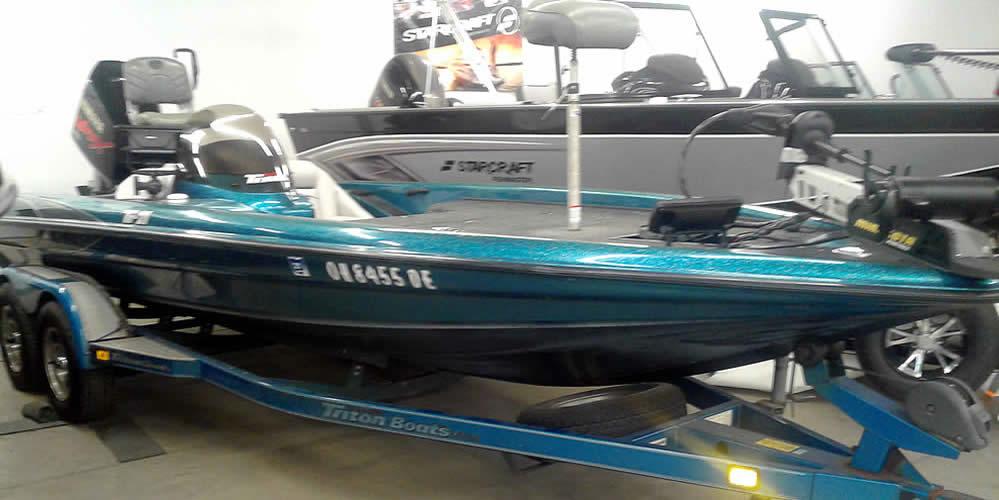 2000 Triton Tr-21 SC - Yamaha 225 VMAX 3.1L