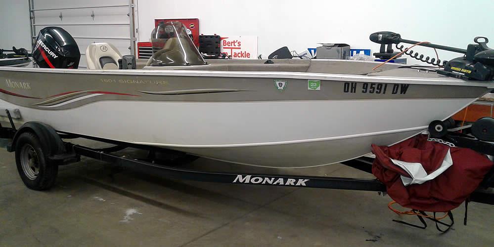 2005 Monark King 160 SC - Mercury 40 Two-Stroke