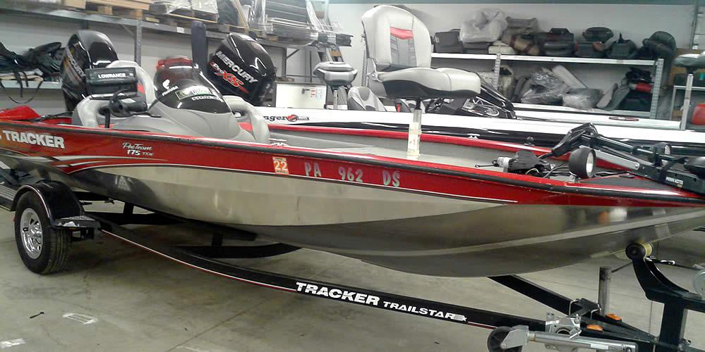 2006 Bass Tracker Pro Team 175 SC - Mercury 60 Four Stroke