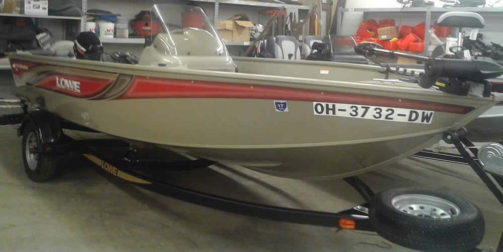 2005 Lowe 1655 Fishing Machine - Mercury 9.9 Four Stroke
