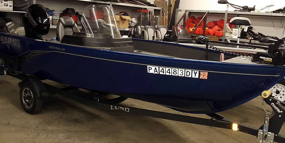 2020 LUND 1650 Angler SS - Mercury 50 Four Stroke