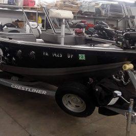 2014 Crestliner 1650 Fish Hawk - Yamaha 90 Four Stroke